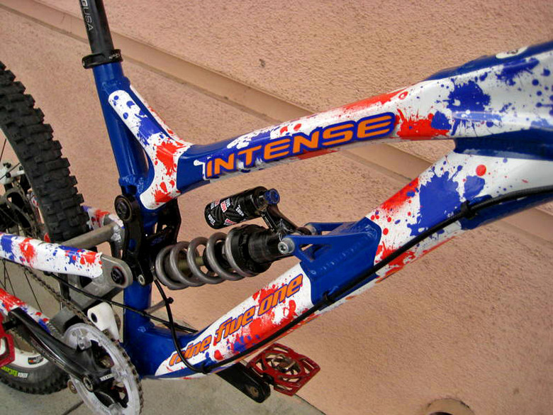 Custom Graphics: Splat for Intense 951 by hieroglyphFX