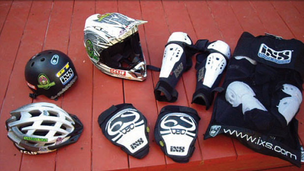 Hans Rey Signs With iXS For Helmets and Protection