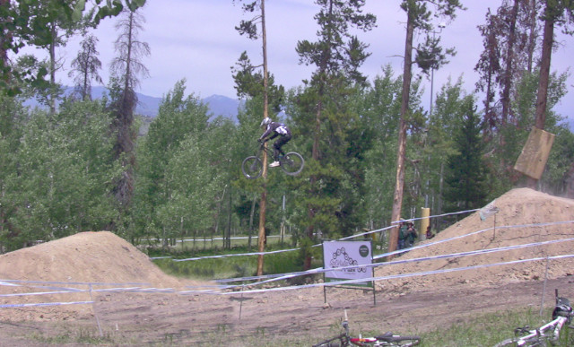 Gene at the 2009 USA DH National Championship at Sol Vista