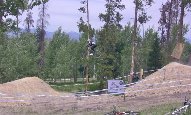 Gene at the 2009 USA DH National Championship at Sol Vista