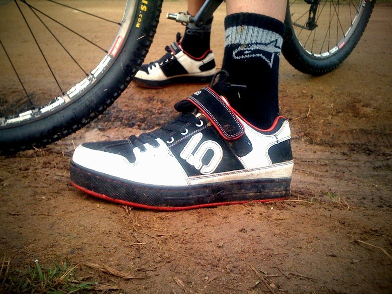 Spy Shot: Greg Minnaar Five Ten Shoes