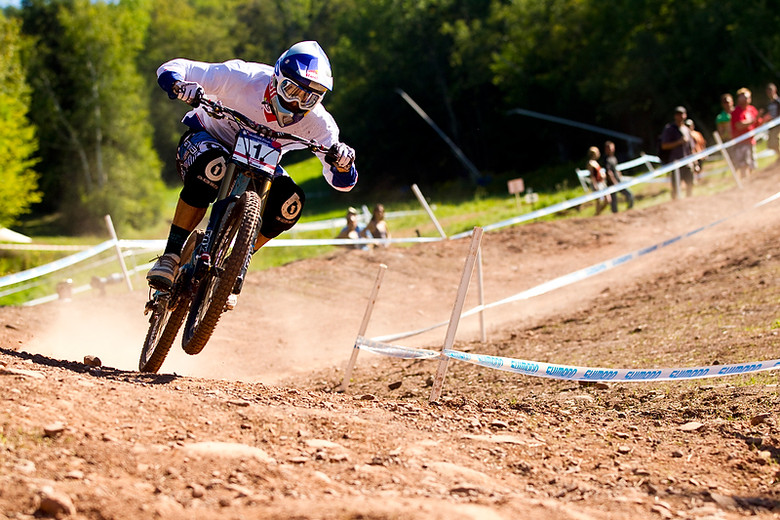 Gee Atherton wins the World Cup Series