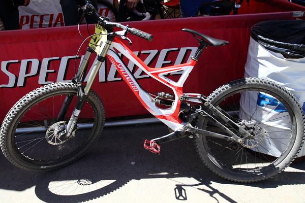 Sub-33 pound Demo 8 - Brad Benedict's 32.89lb Specialized Demo 8 - Mountain Biking Pictures - Vital MTB