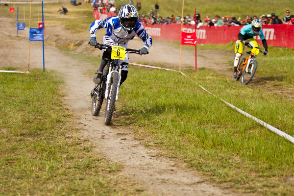 Hart vs Lopes - Sea Otter Slalom finals - Mountain Biking Pictures - Vital MTB