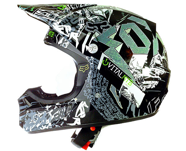 Tested Fox Racing V3r Carbon Helmet Mountain Bikes