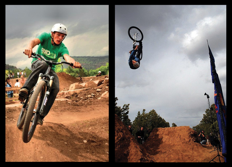 Photo Credit: (L) Bryce Rinkenberger, (R) Jed Sims