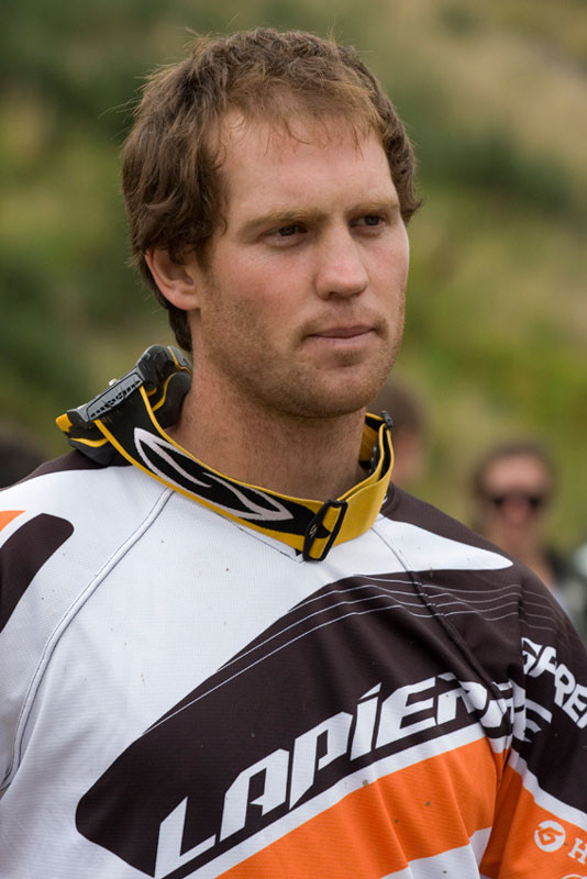 The 2011 New Zealand DH National Champ. Photo: James Allan
