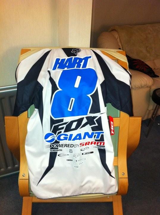 Danny Hart's 2011 jersey