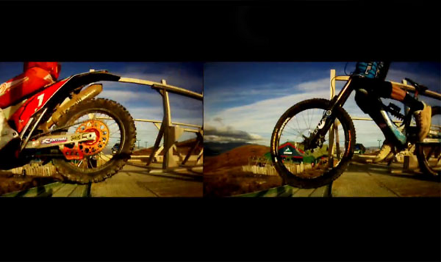 Red Bull: Gee Atherton v David Knight